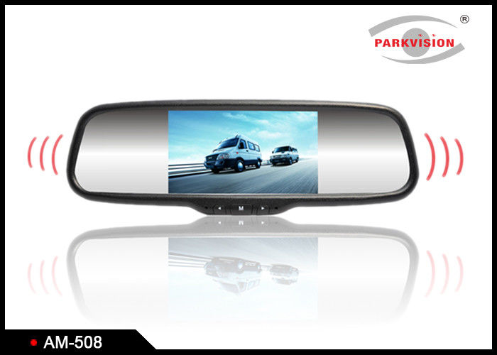 5 Inch Audio LCD Rear View Mirror Backup Camera System For Commercial Vehicle