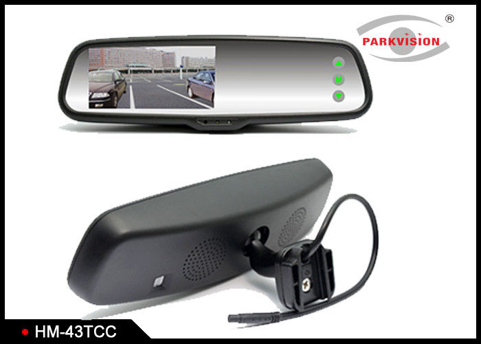 Security Wireless Car Rearview Mirror With Front And Rear View Camera